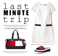 """""""Last Minute Trip"""" by conch-lady ❤ liked on Polyvore featuring Tommy Hilfiger"""