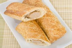 Claim that Trader Joe's invented the sausage roll has Brits in an uproar Sausage Rolls, Trader Joes, Cornbread, Inventions, Vegetarian, Snacks, Ethnic Recipes, Drink, Meat