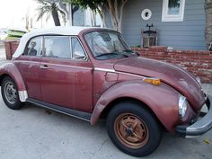 A 1978 VW Cabriolet for sale in Balboa Island, California, U.S.A.