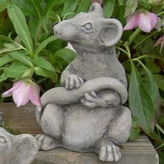 $60Ratsmore the Rat Garden Statue - Ratsmore the Rat will look great in your garden and complete your statue collection. Mischievous posture adds charm Intricate detailing...