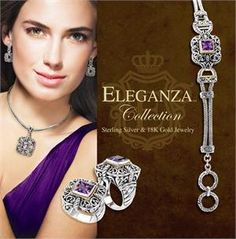eleganza jewelry - Google Search | Sterling Silver with ...