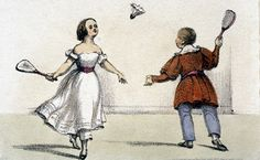 Image result for shuttlecock and battledore photograph