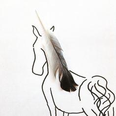 Des illustrations utilisant des objets du quotidien