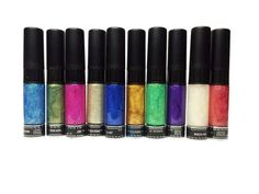 Glitter nail art collections come with a wonderful array of rich colors to be used for outstanding designs.  The Glitter Collection is a very popular set of colors used all over the world. Have fun and enjoy looking great - might as well get two, you deserve it!
