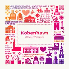 #NewFont: KOBENHAVN includes 10 styles & a delightful set of Scandic pictograms. Get the family now for only $/€ 79 (instead of $/€ 249) ▸ font.me/2bXoBlT