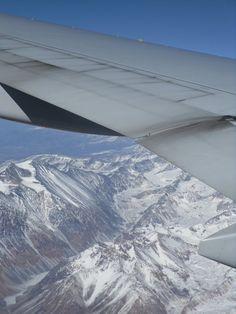 Cordilheira dos Andes....chegando em Santiago do Chile.