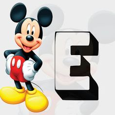 Monica Michielin Alphabets: ALFABETO MICKEY FUNDO CINZA JPG, MICKEY ALPHABET, #mickey, #love Mickey Mouse Banner, Cool Kids, Kids Fun, Best Part Of Me, Disney Characters, Fictional Characters, Party, Love, Ariel