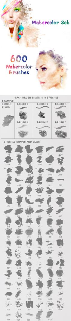 +2500 Artistic #Brushes + Extra Assets