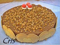 Las comiditas de Cris: Tarta de petit suisse de chocolate