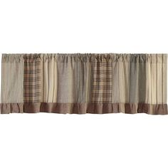 Sawyer Mill Charcoal Patchwork Curtain Valance 72 x 19 Rustic Valances, Farmhouse Valances, Country Valances, Farmhouse Kitchen Curtains, Farmhouse Windows, Country Curtains, Farmhouse Decor, Farmhouse Style, Patchwork Curtains