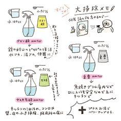 """208 Likes, 13 Comments - Mariko Fukuoka illustration (@45m) on Instagram: """"忘れないようにメモ!今年の #大掃除 はちょこちょこやっていたのであまり焦らず‥だけど、まだキッチンと浴室の換気扇、ベッド周りが手付かずだったわ‥omg!…"""""""