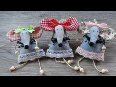 Ma quanto sono carini !!! Pensa sono fatti riciclando jeans - YouTube Needlepoint, Baby Shoes, Recycling, Diy, Make It Yourself, Dolls, Christmas Ornaments, Knitting, Holiday Decor