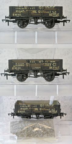 Perry Various Styles 37-117 Bachmann Oo 7 Plank Fixed End Wagon C P