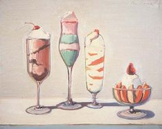 Wayne Thiebaud - Confections * 1962