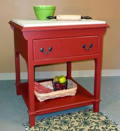 In our family, celebrating the holidays means baking homemade goodies. This solid-pine-french-pastry-table-with-removable-maple-butcher-block-top fits into my small kitchen, and provides valuable workspace. Dining Room Hutch, Dining Table Chairs, Kitchen Chairs, Kitchen Furniture, Tables, Furniture Cleaning, Pine Furniture, Unique Furniture, Shabby Chic Furniture
