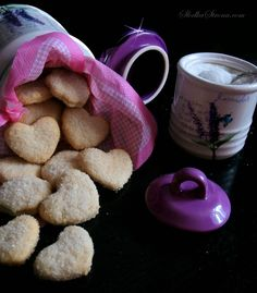 Słodka Strona: Kruche Ciasteczka z Cukrem Cereal, Food And Drink, Breakfast, Tableware, Recipes, Cook, Morning Coffee, Dinnerware, Tablewares
