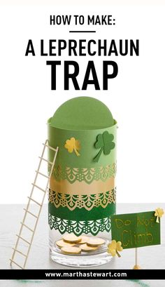 How to Make: A Leprechaun Trap | Martha Stewart Living - The lore of the leprechaun has been passed down for centuries, and these magical elves are especially notorious for causing mischief the night before St. Patrick's Day. Fortunately, there's a way to fight back. Our simple-to-create leprechaun trap will help you and your family capture the troublemakers -- or at the very least, receive a few gold chocolate coins for your trouble.