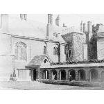Queens' College Cambridge - Cloister Court JPEG Masters' Building with its walkway Queen's College, Peaceful Places, Cambridge, Notre Dame, Queens, Walkway, Gallery, Building, Masters