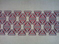 Vagonite/Huck or Swedish Embroidery