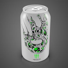 Concept of MONSTER energy drink by Matija Blagojevic