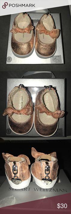 Stuart Weitzman Baby Chiffon shoes Stuart Weitzman Baby Chiffon Mary Jane Shoes. Size 1 Stuart Weitzman Shoes Baby & Walker