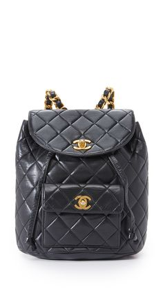 d577a72ef8f2 What Goes Around Comes Around Chanel Classic Backpack (Previously Owned)