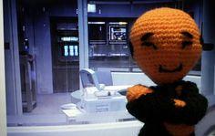 MOE doctor Star Trek Voyager amigurumi