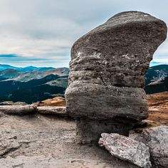 Hiking in Bucegi Mountains leads you to find some unusual rock formation, Sphinx and Babele being the main tourist attraction of the place. Rock Formations, Romania, Trekking, Mount Rushmore, Attraction, Maine, National Parks, Around The Worlds, Hiking