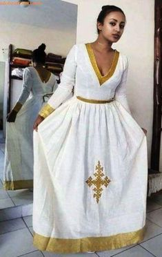 100 Amazing Modern & Traditional Dress (Habesha Kemis/Kemise) of Ethiopia in 2019 — allaboutETHIO Ethiopian Traditional Dress, African Traditional Dresses, Traditional Outfits, Modern Traditional, Ethiopian Wedding Dress, Ethiopian Dress, Grad Dresses, Nice Dresses, Amazing Dresses