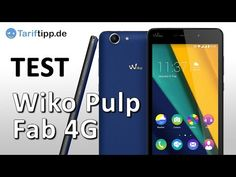 Wiko Pulp Fab 4G Hands on Testvideo | Handyfant