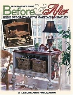 Flea M Finds Repurposed | Weekend Giveaway! Flea Market Finds & Painted Furniture Books ...