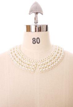 Chicwish Pearl Collar