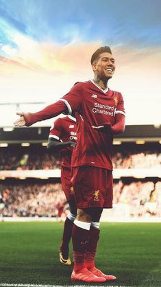 One of the greatest sporting events in the world is soccer, generally known as football in numerous nations around the world. Anfield Liverpool, Salah Liverpool, Liverpool Players, Liverpool Football Club, Premier League, Football Celebrations, This Is Anfield, Fc Chelsea, Soccer Stars