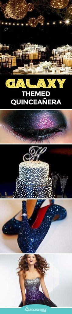 If outer space, shiny colors, glittery decor and stars are among your favorites, then consider this fantastic themed for your fiesta! - See more at: http://www.quinceanera.com/decorations-themes/world-galaxy-themed-quinceanera/?utm_source=pinterest&utm_medium=social&utm_campaign=article-011716-decorations-themes-world-galaxy-themed-quinceanera#sthash.udHhtH4z.dpuf
