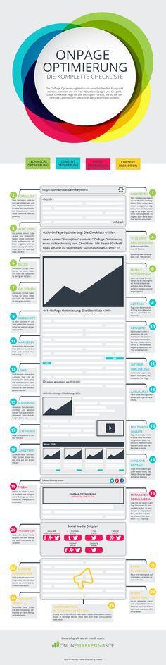 OnPage Optimierung - die komplette Checkliste