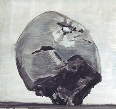 "Luc Tuymans ""Apple"" 1993"
