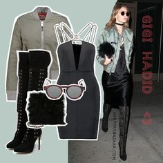 Gigi Hadid - Off We Go. by AMAZE Celebrities