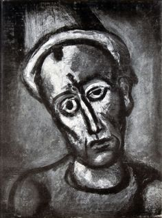 Georges Rouault - Miserere - one of his most famous depicting the human condition