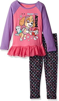 4757b65401189 online shopping for Nickelodeon Girls' 2 Piece Shimmer Shine Or Paw Patrol Legging  Set from top store. See new offer for Nickelodeon Girls' 2 Piece Shimmer ...