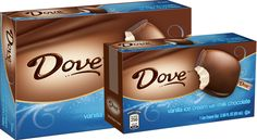 DOVE® DOVEBAR® Vanilla Ice Cream with DOVE® Milk Chocolate