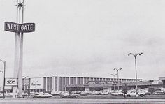 Westgate Shopping Center San Jose 1960s  This place holds so many memories and later in life turned my whole life around....