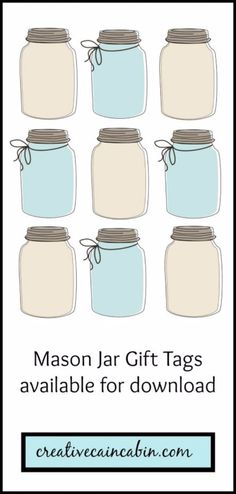 Free Printables for Mason Jars - Mason Jar Gift Tags - Best Ideas for Tags and Printable Clip Art for Fun Mason Jar Gifts and Organization - Sugar scrub, Teacher Gifts, Valentines, Cookie Mixes, Party Favors, Wedding Holidays and Fun Recipes - DIY Mason Jar Gifts and Home Decor Crafts by DIY JOY http://diyjoy.com/free-printables-mason-jars