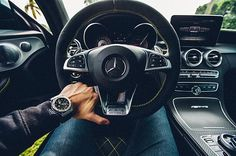 Perfect ComboMercedes C63S with Geared IV on the wrist. #vodrich (:@instaexotics)