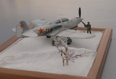 Bell P-63 Kingcobra - Winter 1/48 Scale Model Diorama