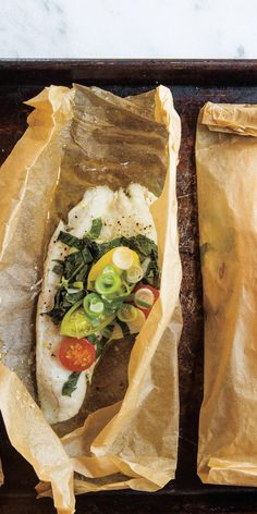 Sole en Papillote  - Crunchy crab cakes. Savory shrimp. Luscious lobster. In general, seafood is great for your health (as long as you avoid the breaded, deep fried kind). So eat up! Here are 17 great recipes for healthy seafood.