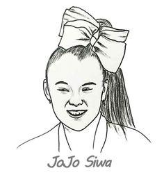 Jojo Siwa Coloring Pages Preschool In 2019 Jojo Siwa Coloring