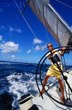 On Board the Merit Sailboat - Photographer:Onne van der Wal - Location:Sint Maarten Us Sailing, Sailing Yachts, Wale, Its A Mans World, Yacht Boat, Dinghy, Sail Away, Set Sail, Motor Boats