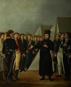 Ksiądz Józef Jakubowski w obozie Kościuszki pod Warszawą w 1794 r.M.Stachowicz-1800 MNK.