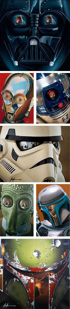 Star Wars Artwork, Christian Waggoner