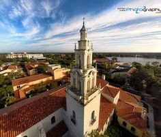 Rollins College #photography #drone photography via @Winter Park Photography